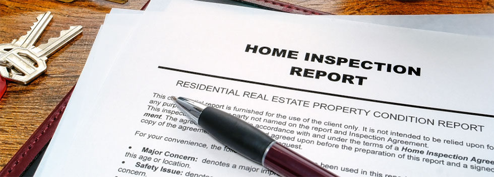 Home Inspection services sample reports
