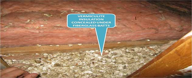 Home Inspection for asbestos insulation